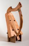 A Lap Harp.