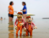Statler and Waldorf in the dead Sea