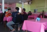 Cafe at Tanjung Aru station