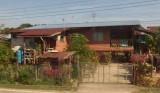 House beside railway line