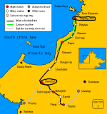 Sabah State Railway route map