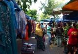 Sunday market, Jalan Gaya