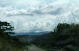 Road ahead (through the windscreen)