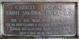 Charles Brooke Memorial - Malay text