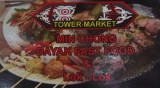 Dayak fast food, Chinatown