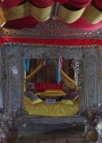 Ceremonial bed, tall house