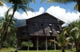 Sarawak Cultural Village, tall house