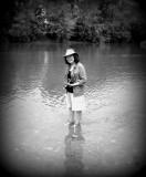 Wading in the Shenandoah