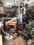 Tornado Destruction of Kitchen