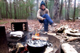 Travels to...The Dinner table in PIne Grove Furnace Campground in early November