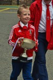 Bute Primaries Shinty Opentop Parade