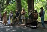 Musicians in Lithia Park Ashland Oregon