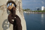 Mazatlan Marina Rusted Chain