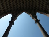 Looking Up at the Immaculate Conception Cathedral