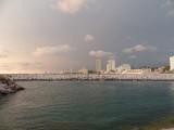 Looking North from the El Cid Marina Beach Resort