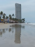 Playa Sabalo Tower Reflection