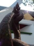 El Cid Moro Beach Big Hanging Chain Close Up