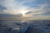 Fishing Boat Sunrise View