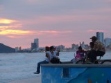Watching the Sunset from the Malecon
