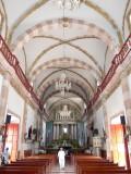 San Sebastian Church Interior, Concordia Mexico