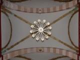 Looking up inside the San Sebastian Church, Concordia Mexico