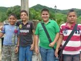 Amigos in Copala, Mexico