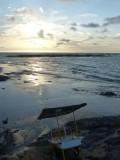 Playa Bruja Food Cart Sunset