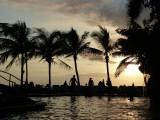 Luna Palace Pool Sunset