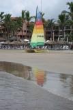 Playa Sábalo Beach Reflection