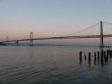 Bay Bridge Moonrise