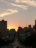 California Street Sunset