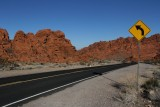 Valley of Fire Left Turn