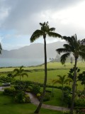 View from our Balcony at the Marriott's Kauai Lagoons
