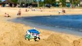 The Pandafords Visit Poipu Beach