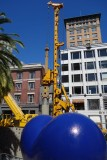 Blue Heart, Yellow Crane