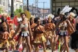 San Francisco Carnaval Festival Dancers Warming Up