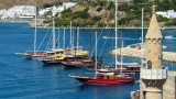 Bodrum Boats and Castle