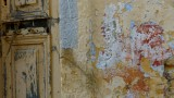 Symi Door and Wall