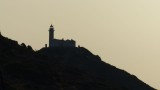 Knidos Lighthouse Silhouette