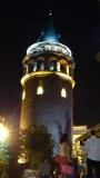 Galata Tower at Night