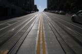 California Street Cable Car Tracks