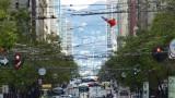 Looking Up Market Street