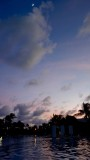 Moonrise over Mayan Palace Pool