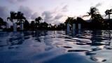 Mayan Palace Pool at Dusk