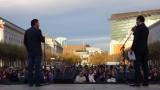 Civic Center Rally