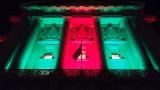 City Hall all lit up for Christmas