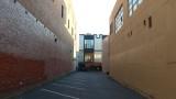 Narrow Parking Lot