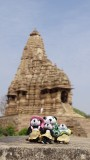 The Pandafords Visit Khajuraho Monuments