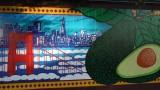 Avocado with Golden Gate Bridge