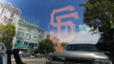 Giants Fan on California Street